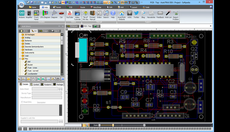 Electronic Circuit Pcb Design Software