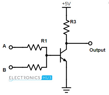 Digital Electronics-Logic Gates Basics,tutorial,circuit