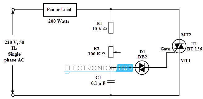 Fan Sd Control Circuit Diagram, Fan, Free Engine Image For