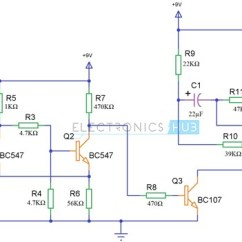 Fire Alarm Schematic Diagram Jvc Kd R320 Wiring Simple Circuit Using Thermistor Germanium Diode And Lm341 With Siren Sound