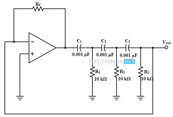 RC Oscillator-using Op-Amp, BJT