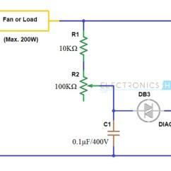 Wiring Diagram Of Capacitor Start Induction Motor 91 Honda Civic Hatchback Radio Simple Fan Regulator Circuit Using Triac And Diac