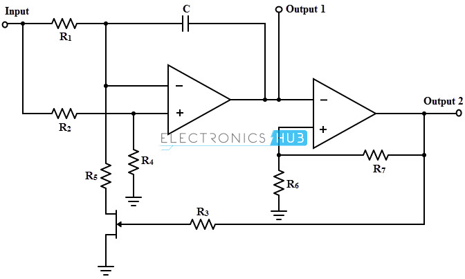 vco voltage controlled oscillator circuit