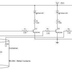 Liquid Level Controller Circuit Diagram 2005 Ford Focus Wiring For The Radio Simple Water Indicator With Alarm 3 Tested Circuits