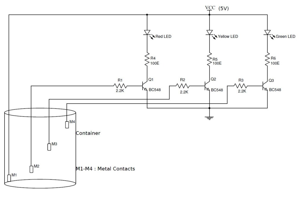 medium resolution of circuit diagram of water level indicator wiring diagram show liquid level automatic controller circuit diagram 3 controlcircuit