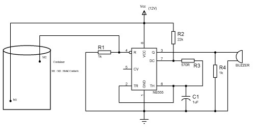 small resolution of sensor light switch circuit diagram besides water level sensor simple water level indicator with alarm