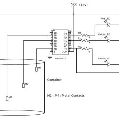 Simple Doorbell Circuit Diagram Cessna 172 Audio Panel Wiring Water Level Indicator With Alarm 3 Tested Circuits