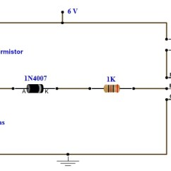 Thermistor Symbol Electrical Diagram Digital Power Meter Wiring Simple Fire Alarm Circuit Using Germanium Diode And Lm341