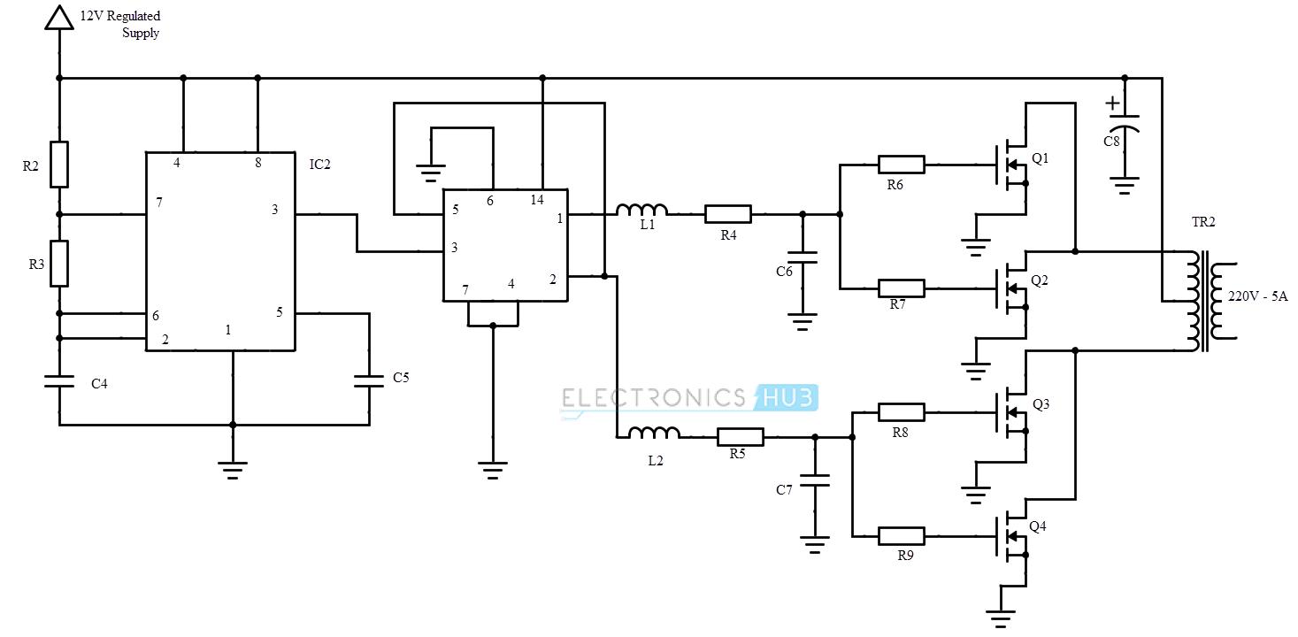 hight resolution of circuit diagram uninterrupted power supply inverter