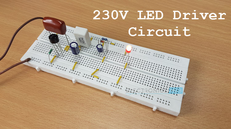 Led Bulb Driver Circuit Diagram 230 V Led Driver Circuit