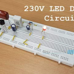 Solar Power Diagram How It Works Ac Electric Motor Wiring 230v Led Driver Circuit Diagram, Working And Applications
