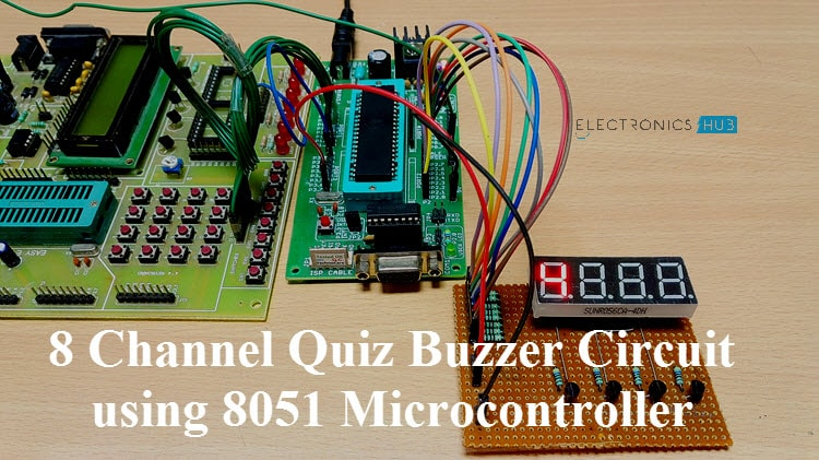 Game Buzzer Circuit