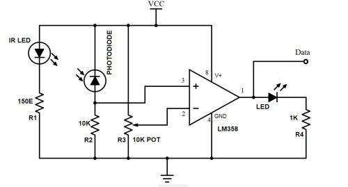small resolution of bidirectional visitor counter using 8051 microcontroller ir sensor