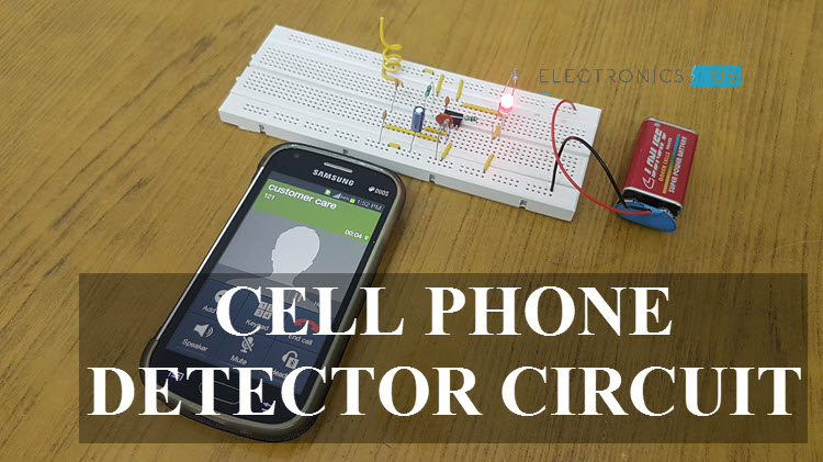 Rf Detector Circuit Electronic Project Using Transistors