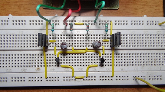Mc33374 Switching Power Supply Circuit Diagram Schematic