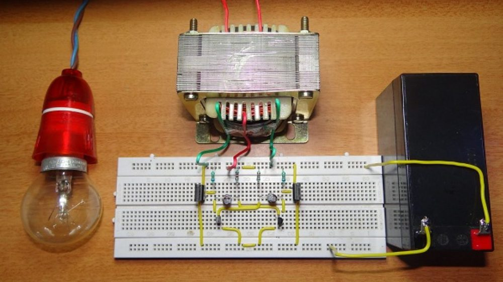 medium resolution of 12v dc to 220v ac converter tested circuit