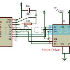 Dtmf Decoder Ic Mt8870 Pin Diagram Tvss Wiring How To Build Mobile Controlled Robotic Vehicle Without Circuit Of Robot Microcontroller
