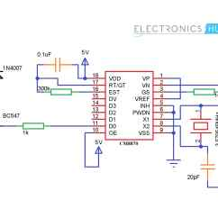 Dtmf Decoder Ic Mt8870 Pin Diagram Animal Cell Mitosis Mobile Controlled Home Appliances Without Microcontroller