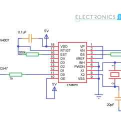 mobile controlled home appliances without microcontroller cellphone controlled home appliances circuit diagram without microcontroller [ 2800 x 1280 Pixel ]