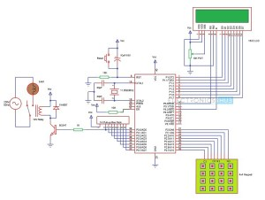 Password Based Circuit Breaker Project Circuit Working