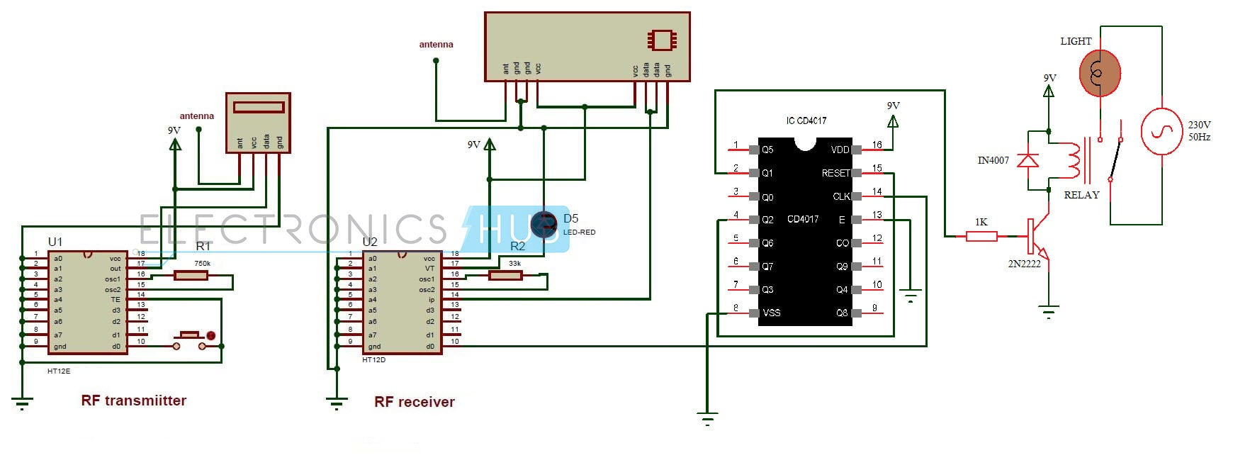 hight resolution of control circuit control circuit schematic diagram radio control rc servo circuit diagram likewise ir remote control switch circuit