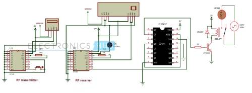 small resolution of wireless remote control car circuit diagrams