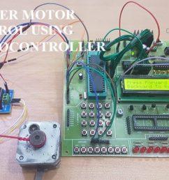 stepper motor control using 8051 microcontroller [ 1280 x 720 Pixel ]