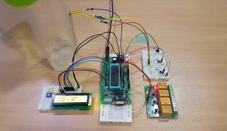 Circuit Diagram Valve Plug Valve Water Level Indicator Circuit Diagram