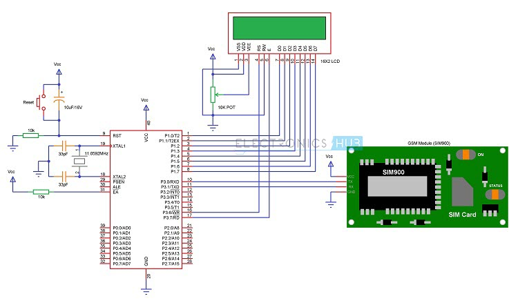 8051 Programmer Development Board Schematic Pcb Files 8051programmer