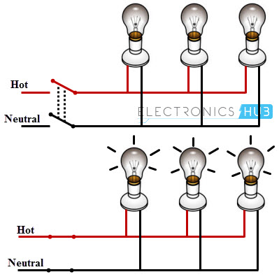 simple home electrical wiring diagram