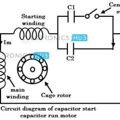 Single Phase Motor Wiring Diagram Capacitor Start Epiphone Sg 3 Great Installation Of Run Rh 8 Naehbehr De Winding Diagrams 460