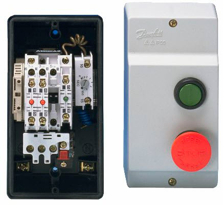 3 Phase Air Compressor Wiring Diagram Direct Online Starter Dol Starter