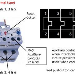 Control Wiring Diagram Of Dol Starter Single Phase Motor With Capacitor Start Direct Online Starter/dol