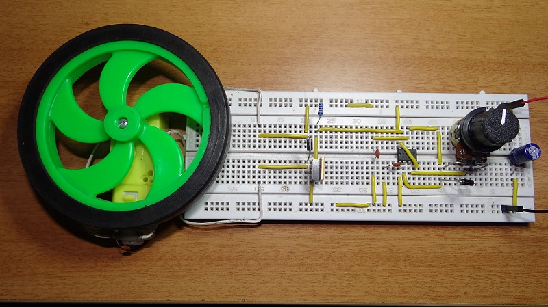 555 Timer In A Monostable Circuit 555 Timer Monostable Mode