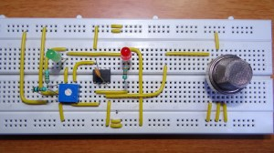 How To Make Smoke Detector Alarm Circuit