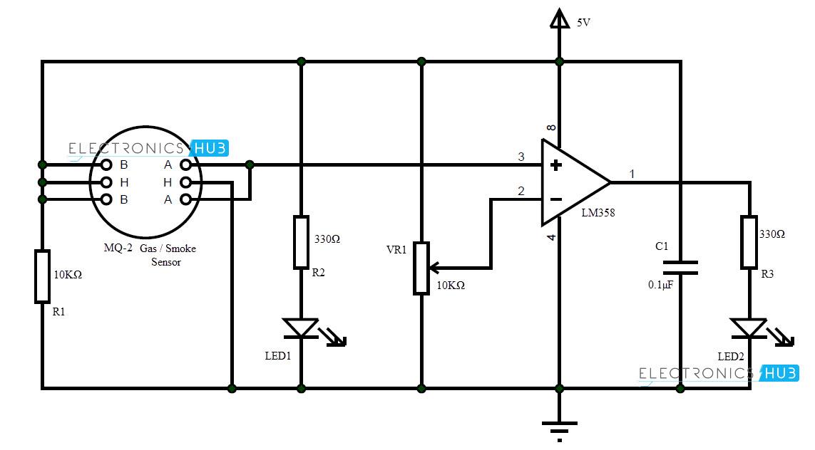 smoke alarm wiring schematic