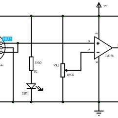 Ultrasonic Motion Detector Circuit Diagram The Story Of An Hour Plot Sensor Great Installation Wiring How To Make Smoke Alarm Rh Electronicshub Org