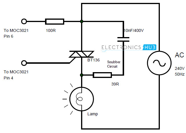 Super AC dimmer using IC555 triac Electronics Circuit