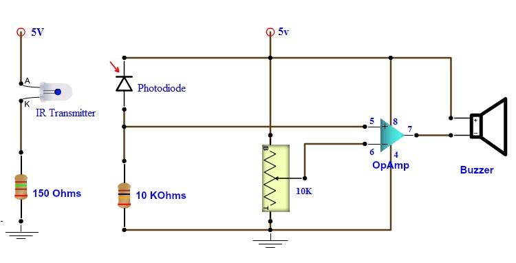 human eye diagram simple cyclic photophosphorylation how to make best burglar alarm circuit?