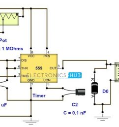 adjustable timer circuit diagram with relay output bedside lamp timer circuit schematic circuit diagram [ 1280 x 720 Pixel ]