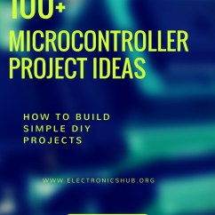 Electronics Mini Projects With Circuit Diagram Auto Wiring Diagrams 100 Microcontroller Based Ideas For Engineering Students