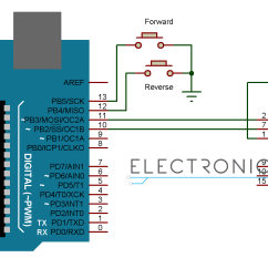Diagram Motor Control Wiring 4 Wire Dc With Arduino