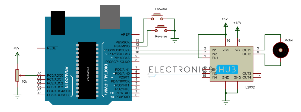 medium resolution of dc motor control with arduinoarduino dc motor wiring diagram 7