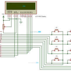 Arduino Lcd Screen Wiring Diagram Lace Crochet Scarf How To Build A Simple Calculator Circuit