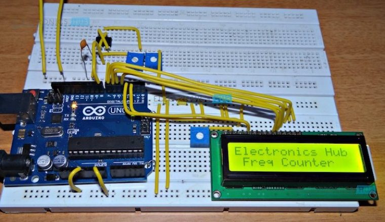 Schematic Diagram Of Arduino Frequency Counter