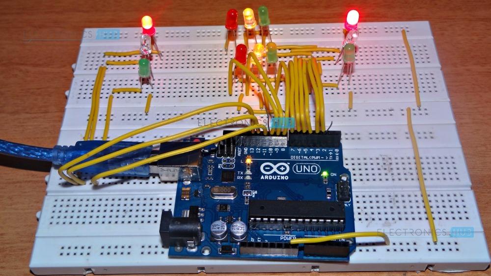 Wiring Diagram Traffic Light