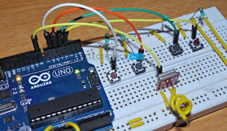 Through Rf Without Microcontroller Electronic Circuits And Diagram