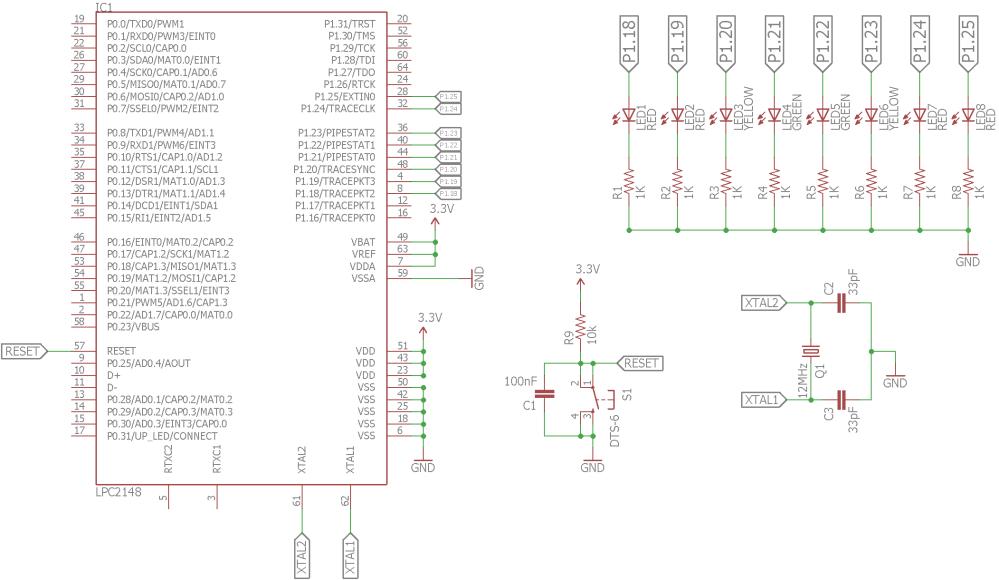 medium resolution of schematic blinking leds circuit diagram