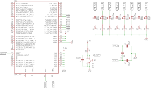 small resolution of schematic blinking leds circuit diagram