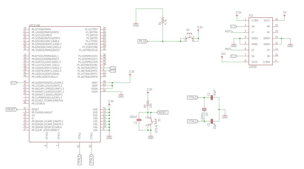 DC Motor Control using ARM7 LPC2148